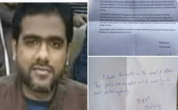 Lecturer of Govt. MAO College, Lahore commits suicide over false sexual harassment allegations