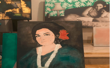 Nazia Ejaz Gears Up for Art Exhibition in Her Mother's Memory