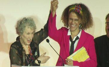 Margaret Atwood and Bernardine Evaristo Share the Booker's Prize