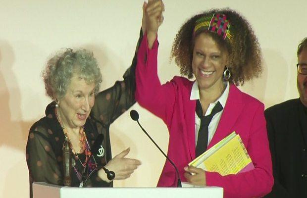 Margaret Atwood andBernardine EvaristoShare the Booker's Prize