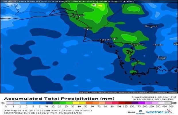 Karachiites it's not over yet Met predicts more rain for Karachi