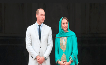 Prince William and Kate's Royal Aircraft Forced to Abort landing in Islamabad during storm