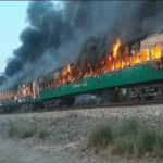Tezgam train incident: 73 killed, scores injured as train catches fire