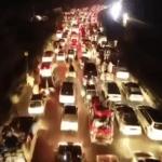 Azadi March caravan enters Islamabad through expressway