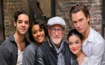 Steven Spielberg wraps production for 'West Side Story'