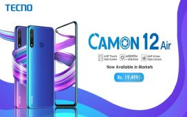 Camon 12 Air is Now Available in Mobile Markets All Across Pakistan