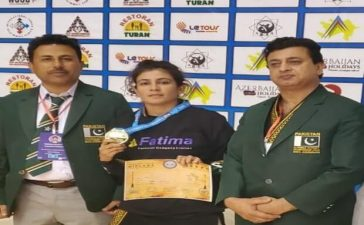 Arwa Afridi double gold medals