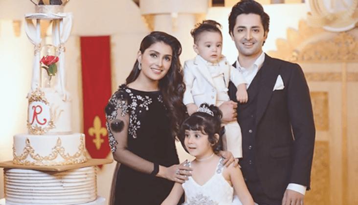 Ayeza Khan with family