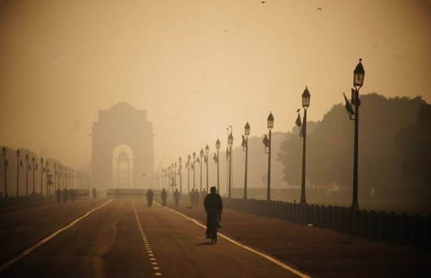 BJP leader has Bizarre Theory for Delhi Smog