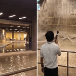 Heavy Rains Leave Dubai Mall Flooded