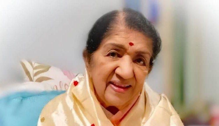 Bollywood singer Lata Mangeshkar