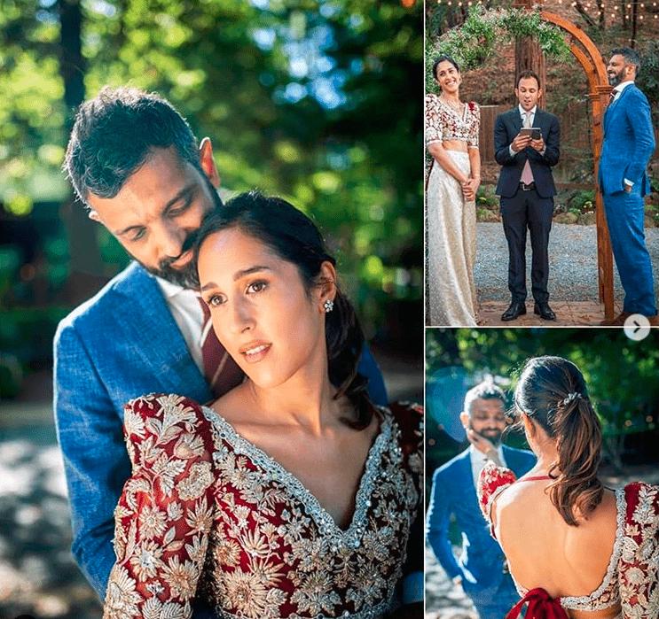 Mira Sethi and fiancé Bilal Siddiqui