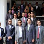 MoITT Dr. Khalid Maqbool Siddiqui visits U Microfinance Bank HQ