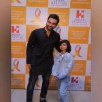 Junaid Khan attends childhood Cancer survivors' day celebrations at Indus Hospital