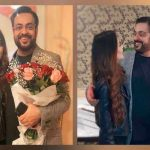 Aamir Liaquat is celebrating first wedding anniversary of his second marriage