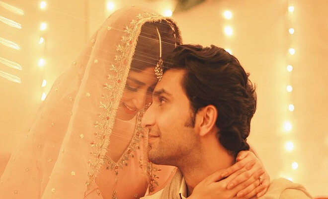 Ahad Raza Mir and Sajal Aly