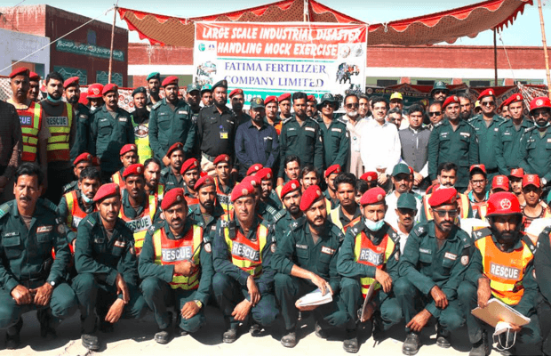 Fatima Fertilizer holds a large-scale industrial safety mock drill - OyeYeah News