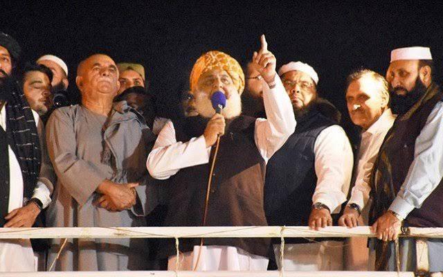 Azadi March - Maulana Fazlur Rehman warns PM Imran Khan