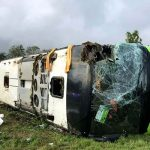 33 injured including 10 Britons as bus overturns in France
