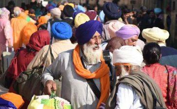 Sikh Pilgrims arrives in Pakistan