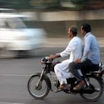 Pillion riding banned in Karachi and major cities of Sindh on Nov 6