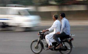Pillion Riding Banned in Karachi