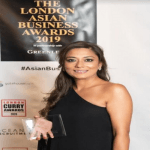 "Aida Khan wins ""Food Entrepreneur of the Year"" award at London Asian Business Awards 2019!"