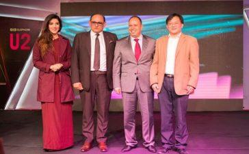 Brand_Ambassador_Hareem_Farooq_with_Team_ELEPHONE