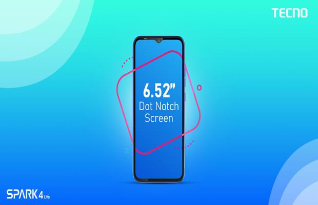 6.52 Dot Notch Screen