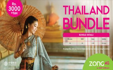 Zong bundle for Thailand