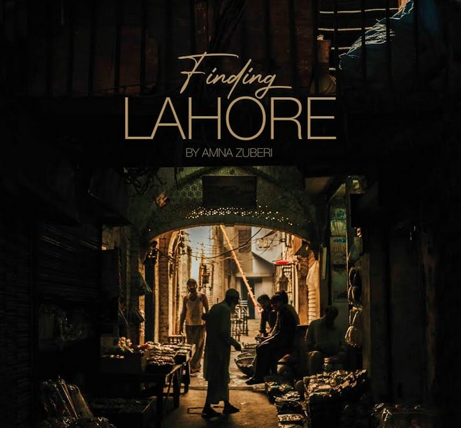 Finding Lahore book page cover