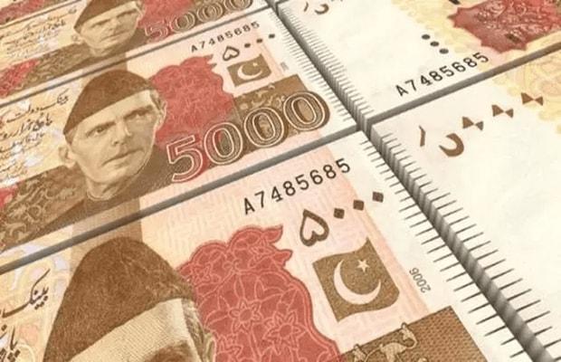 Rs5,000 banknotes