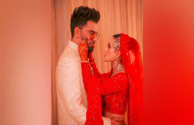 Newlyweds Yasir and Iqra