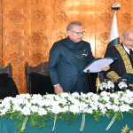 Justice Gulzar Ahmed Sworn in as 27th Chief Justice of Pakistan