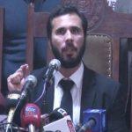 Hassaan Niazi appears before media after seeking pre-arrest bail