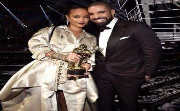 Drake with Rihanna