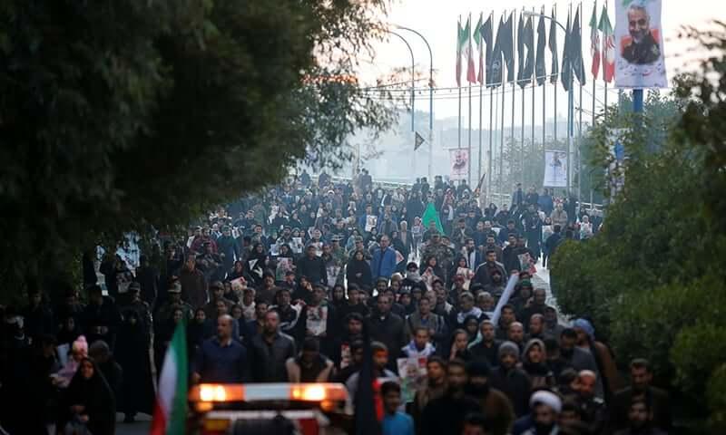Thousand of Iranian