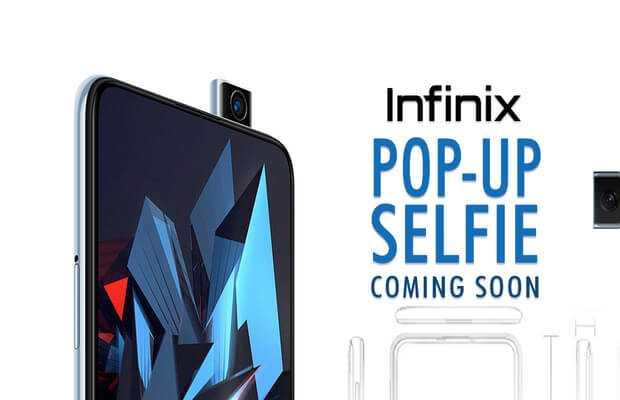 Infinix's Pop-up Selfie camera phone