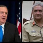 Mike Pompeo phones to COAS Gen Qamar amid US-Iran tensions