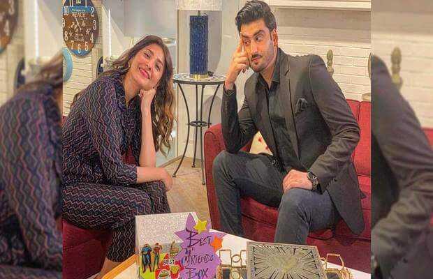 Aagha Ali and Hina Altaf