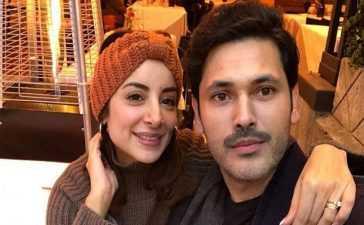 Sarwat Gillani with husband