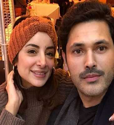Sarwat Gillani with husband