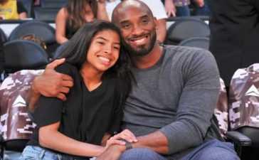 Kobe Bryant's 13-year-old daughter