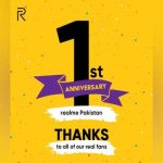 Underscoring its dare to leap philosophy with growth over 600% realme Pakistan turns 1