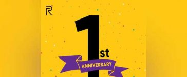 First Anniversary realme Pakistan