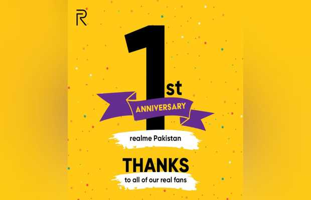 First Anniversary realme Pakistan
