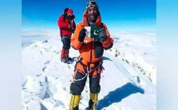 Pakistani mountaineer Muhammad Ali