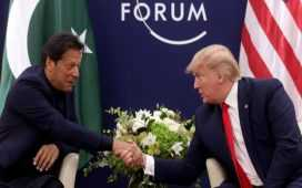Donald Trump with imran khan