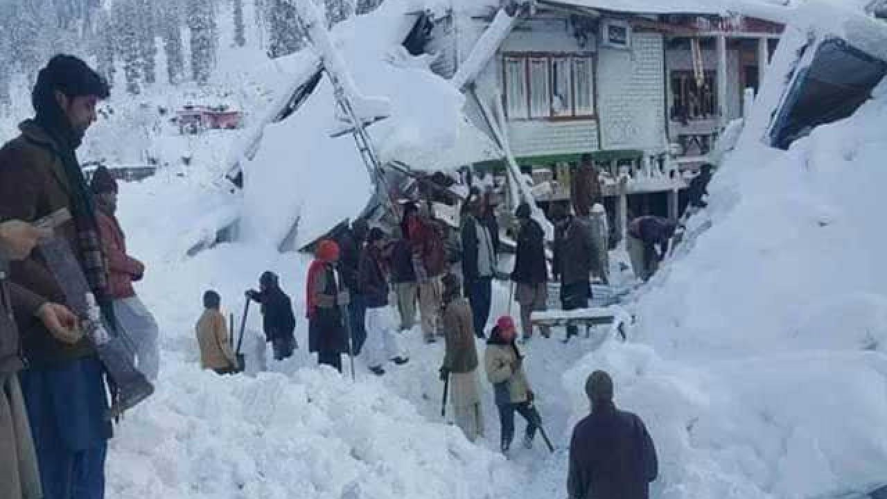 Image result for Death toll surges to 104 in avalanche-hit areas, NDMA issues report