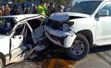 US Embassy vehicle accident